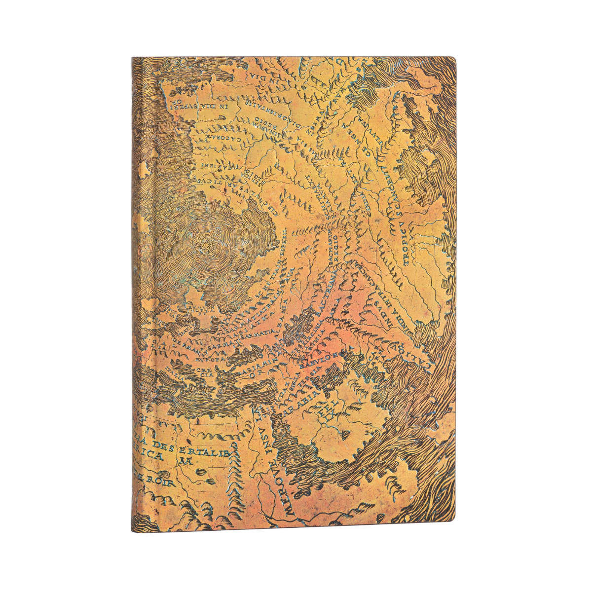 Paperblanks Flexis Hunt-Lenox Globe Midi 5 x 7 Inch Journal