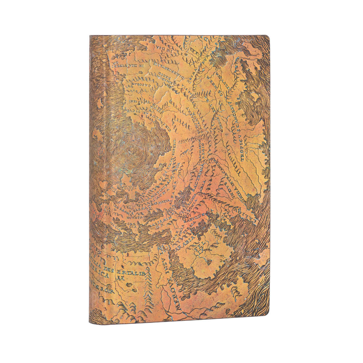 Paperblanks Flexis Hunt-Lenox Globe Mini 3.75 x 5.50 In Journal