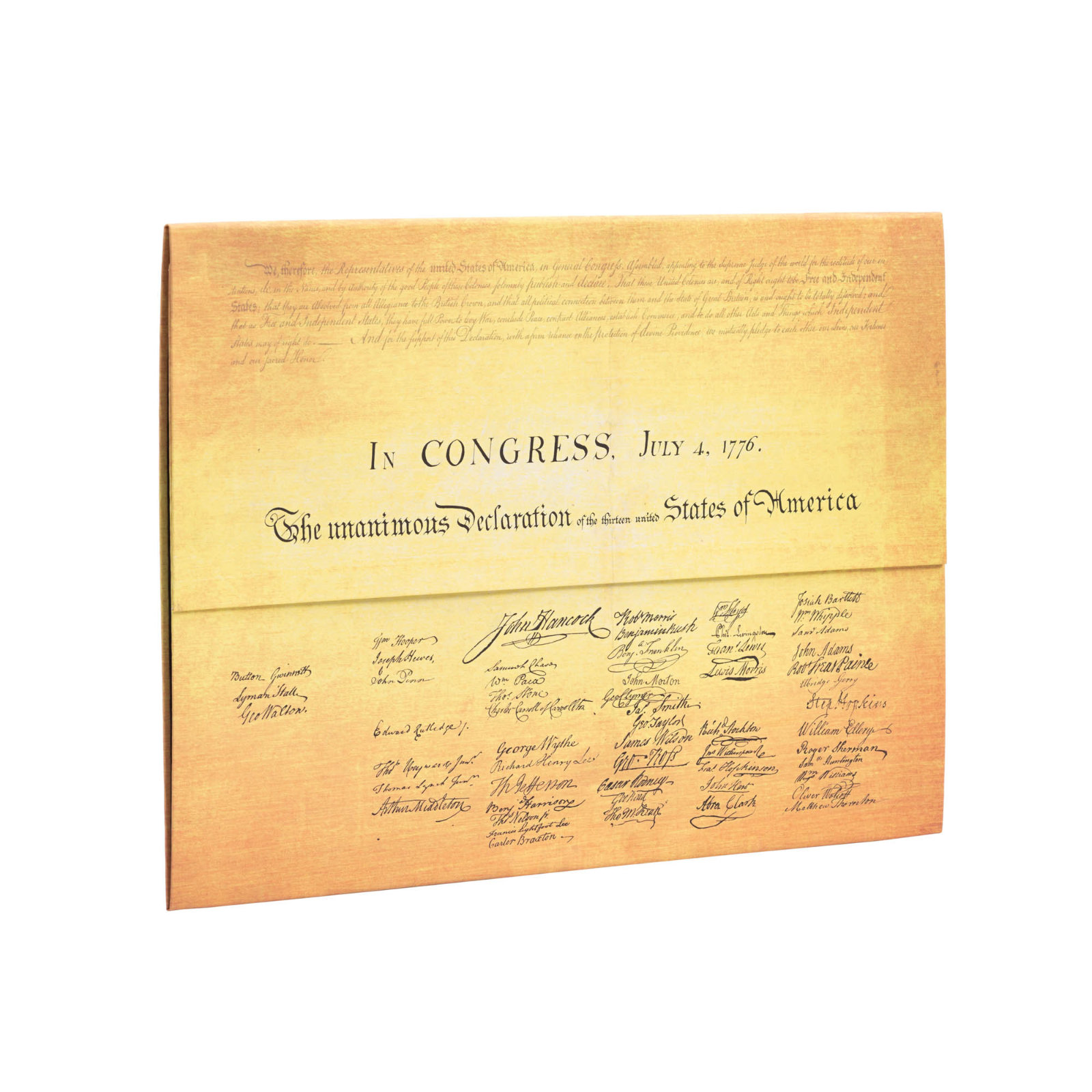Paperblanks Declaration of Independence Document Folder