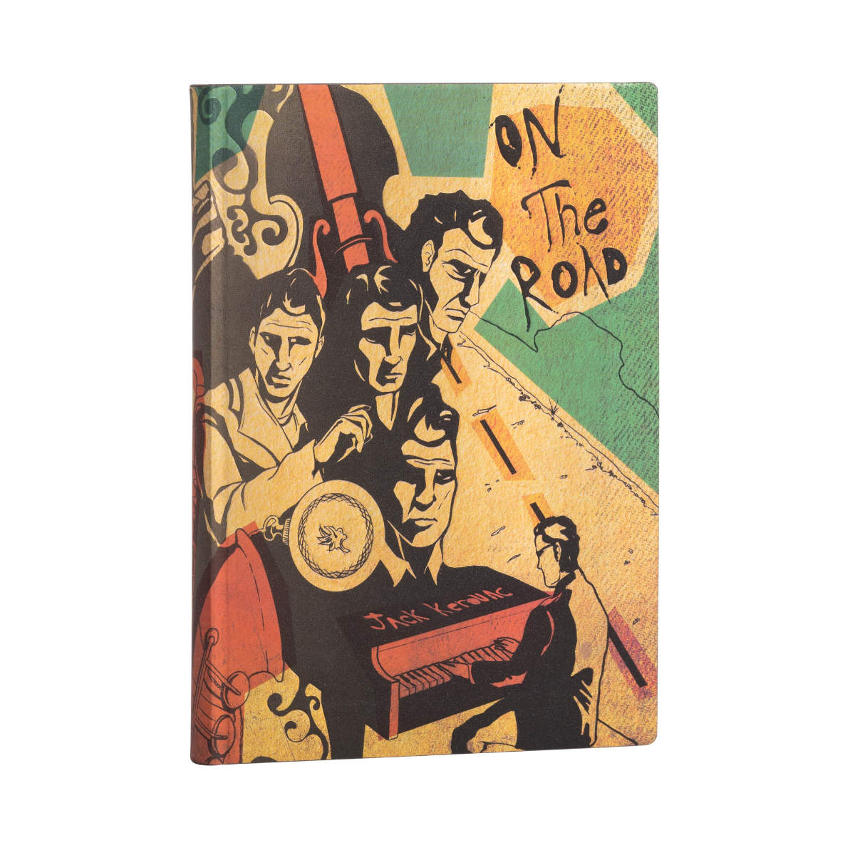 Paperblanks Flexis Jack Kerouac On the Road Midi Journal