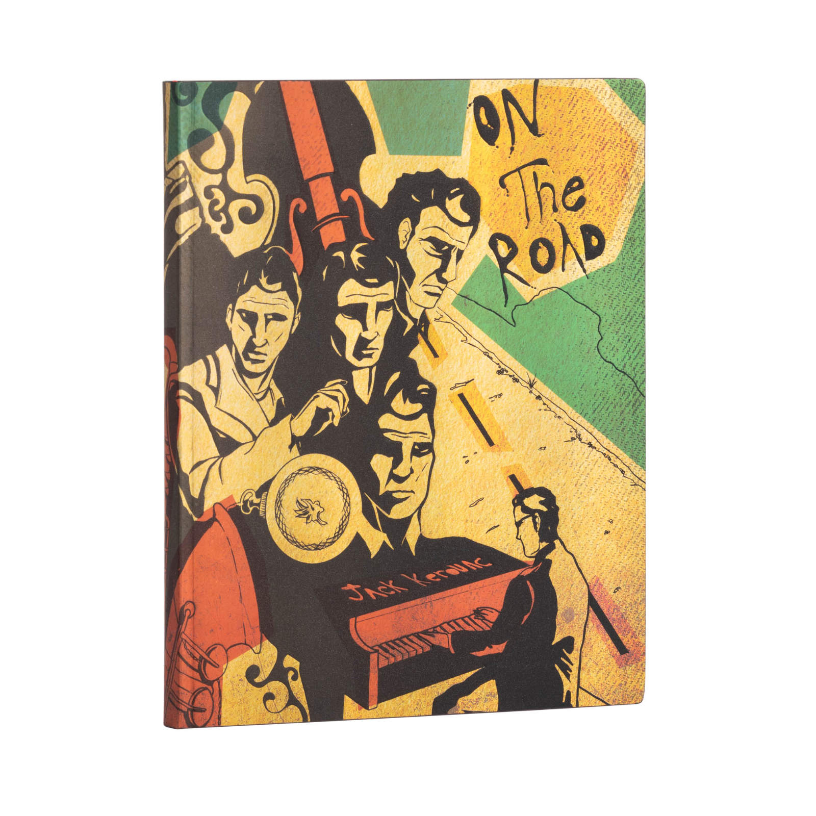 Paperblanks Flexis Jack Kerouac On the Road Ultra Journal
