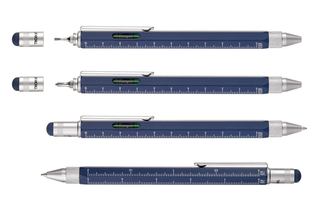 Troika Classic Construction Pen Blue
