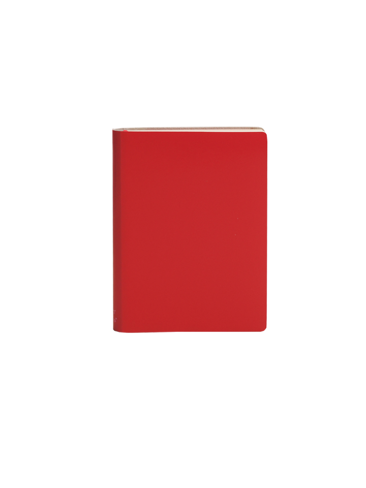 Paperthinks Pocket Ruled Notebook Poppy Red