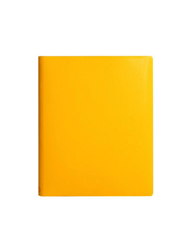 Paperthinks Extra Large 7x9 Inch Notebook Yellow Gold
