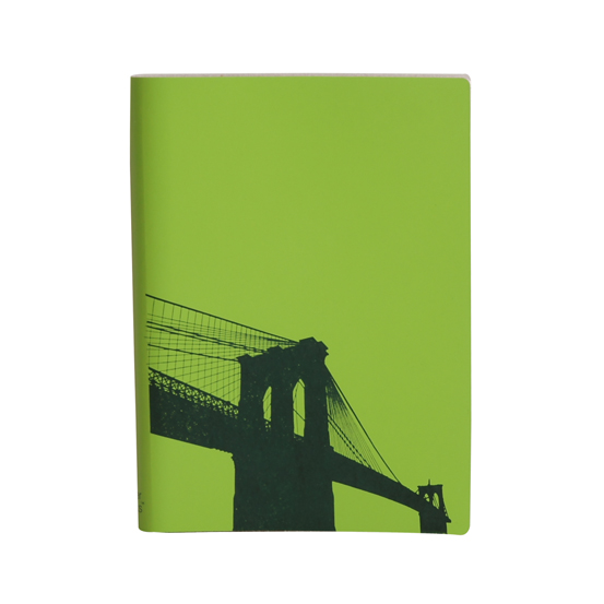 Paperthinks Large Slim Notebook Brooklyn Bridge Mint