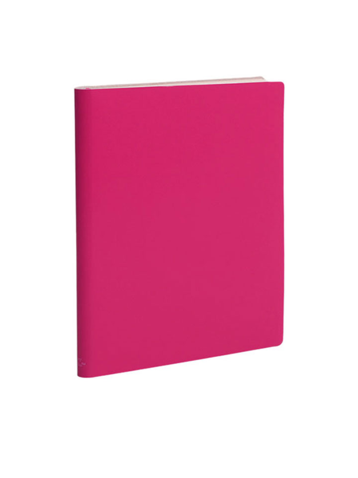 Paperthinks Large Ruled Notebook Rubine Red