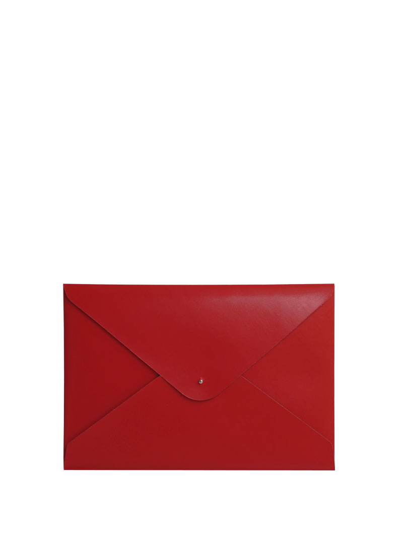 Paperthinks Eco-friendly Document Folder Scarlet Red
