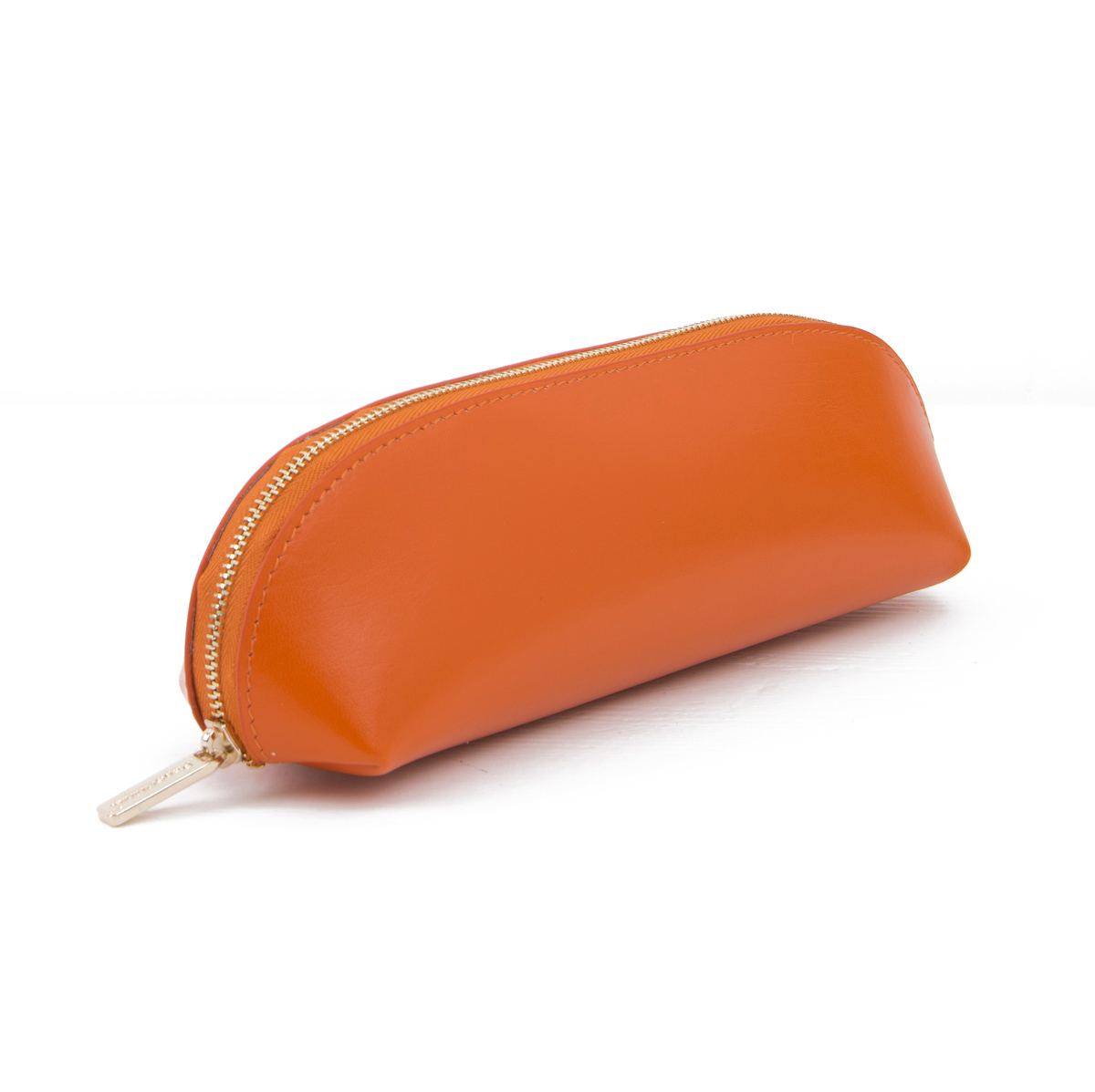Paperthinks Recycled Leather Pencil Case Russet