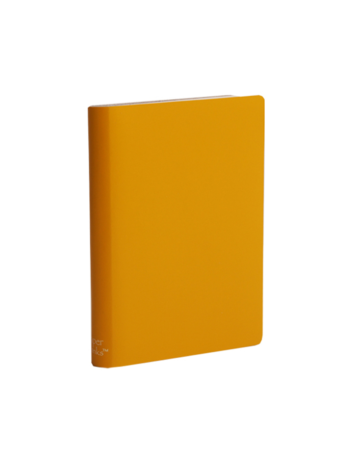 Paperthinks Large Ruled Notebook Yellow Gold