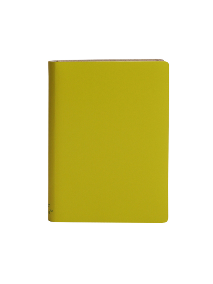 Paperthinks Large Plain Notebook Lemon Grass