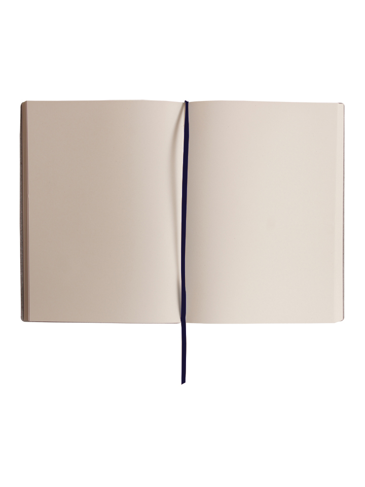 Paperthinks Large Plain Notebook Navy