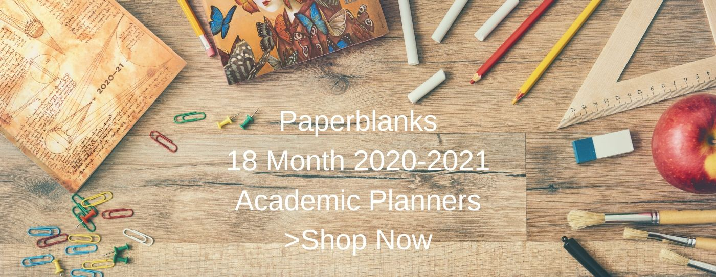 Paperblanks 2020-21 18M Planners