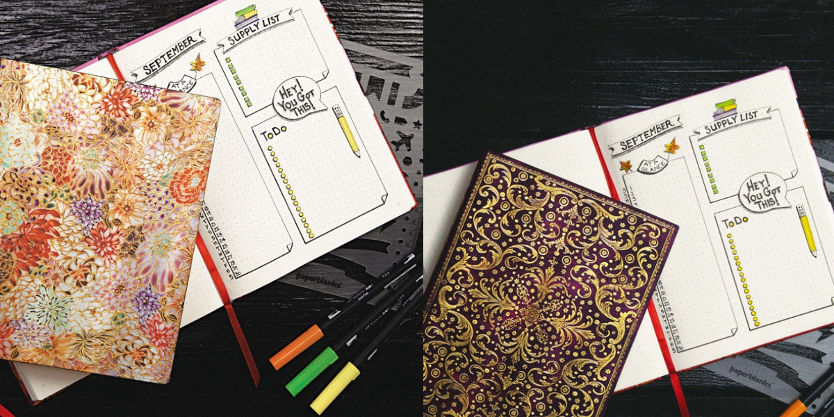 Paperblanks Dot-Grid Journals