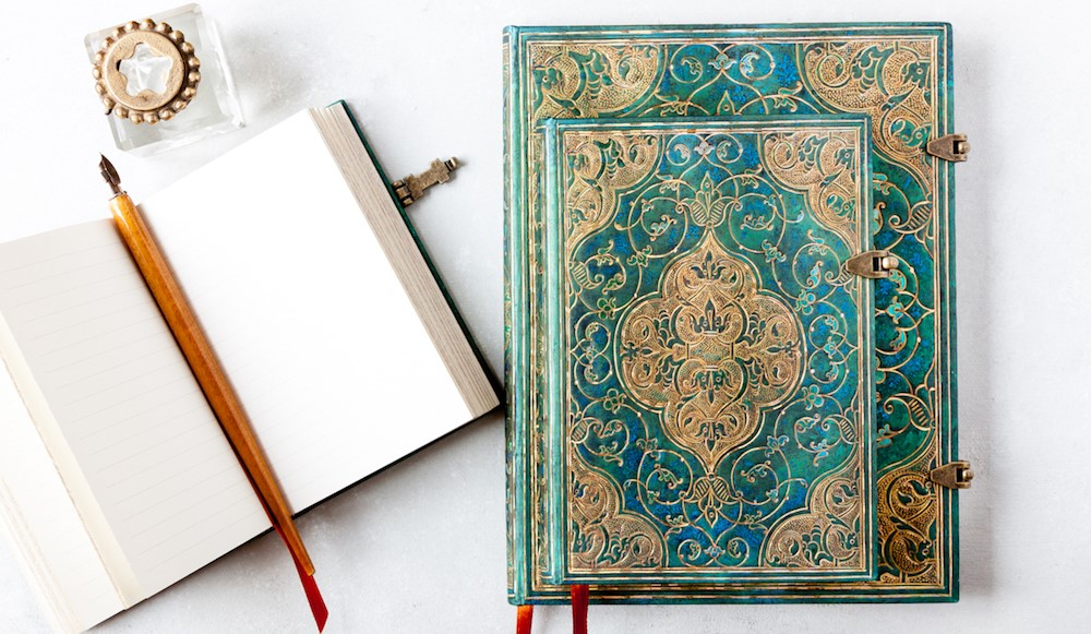 Paperblanks Turquoise Chronicles