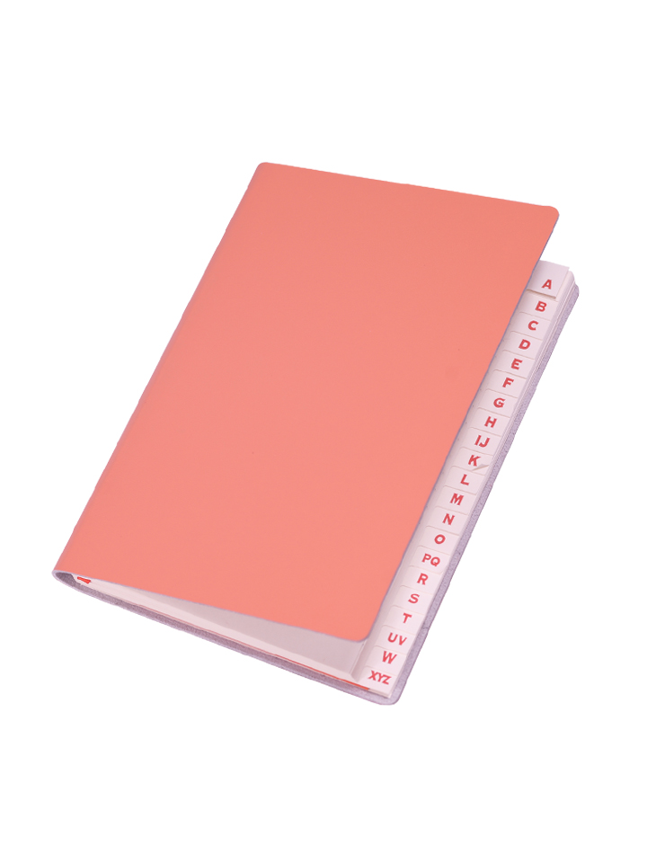 Paperthinks Slim Address Book Tangelo Orange