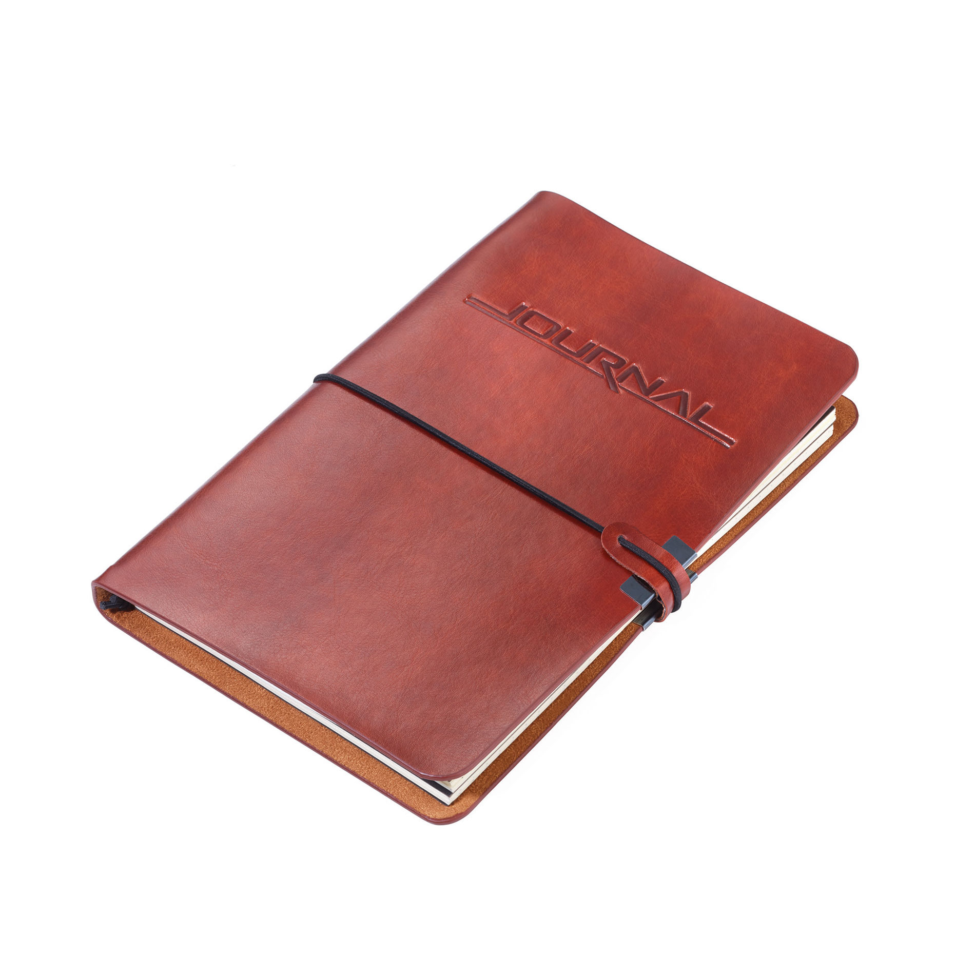 Troika Refillable Vegan Leather A5 9.25 x 6.22 Inch Journal