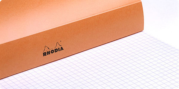 Rhodia Orange Staple Bound Pads