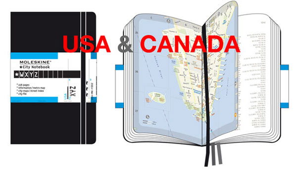 City Notebooks North America