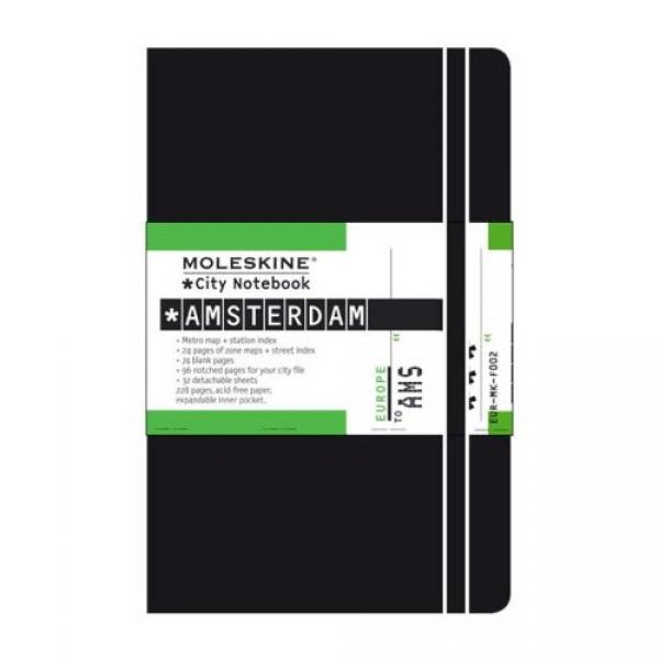 moleskine city notebook amsterdam the notebook experts. Black Bedroom Furniture Sets. Home Design Ideas