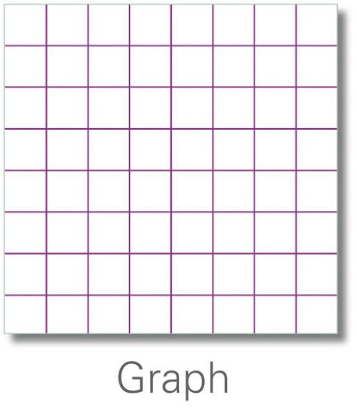 Graph lined paper