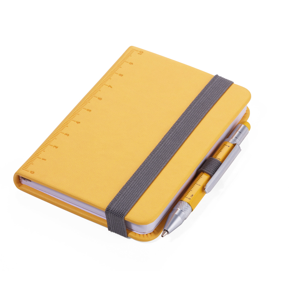 Troika Lilipad and Liliput Mini Notebook and Pen Yellow