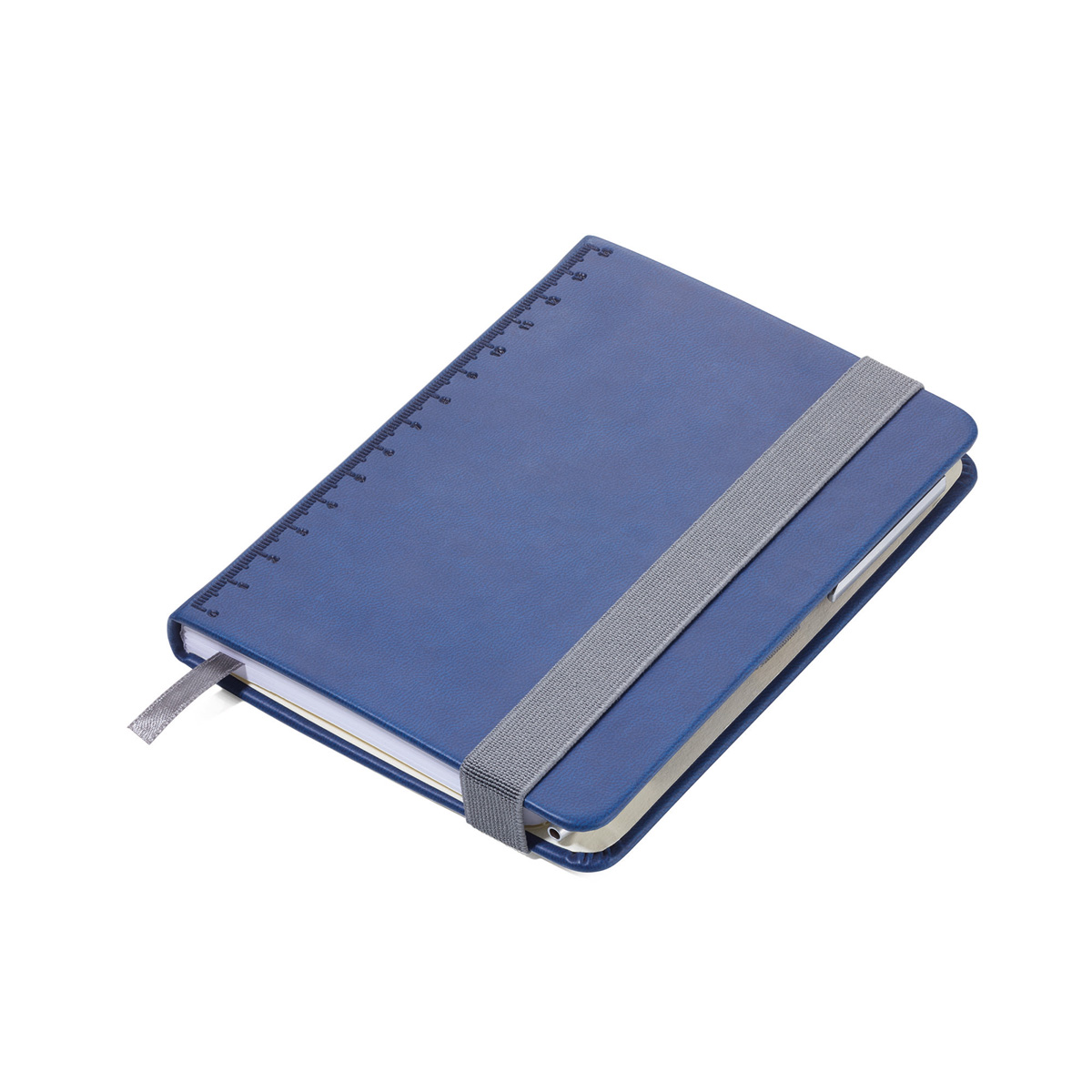 Troika A6 Notebook with Slim Construction Pen Blue