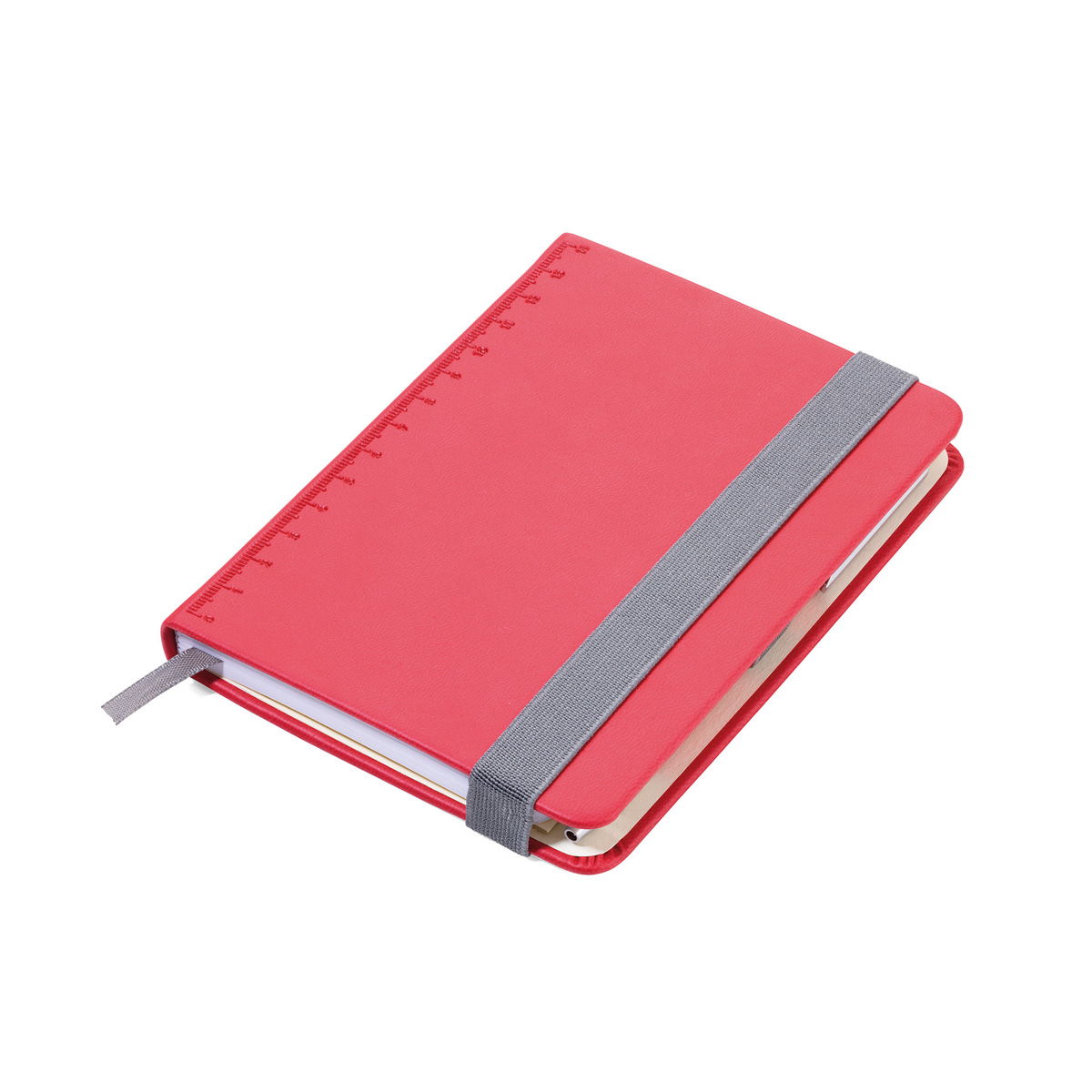 Troika A6 Notebook with Slim Construction Pen Red
