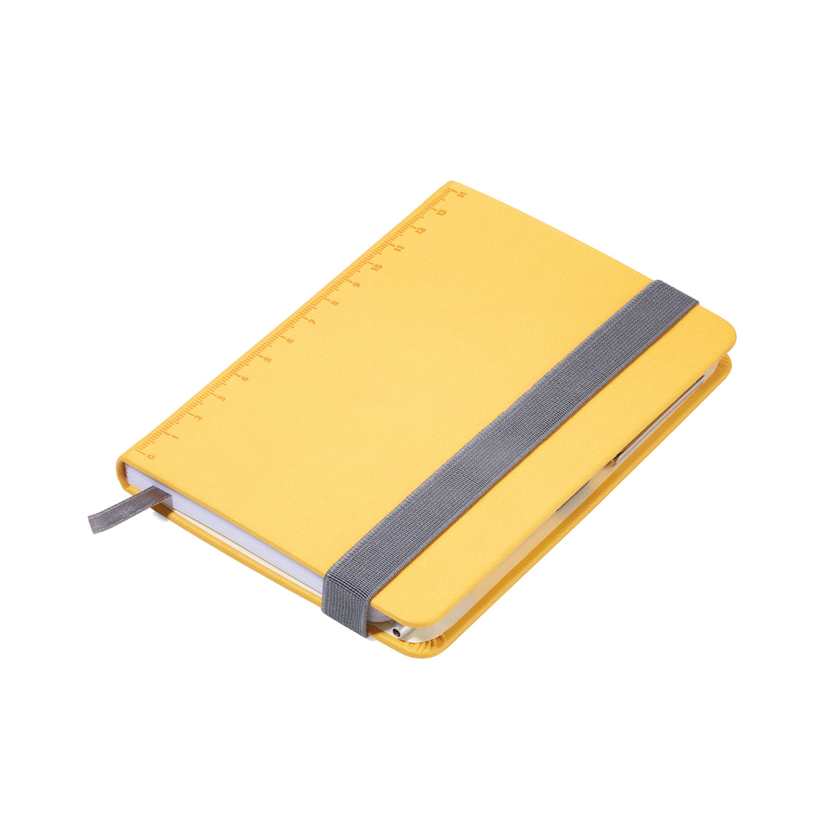 Troika A6 Notebook with Slim Construction Pen Yellow