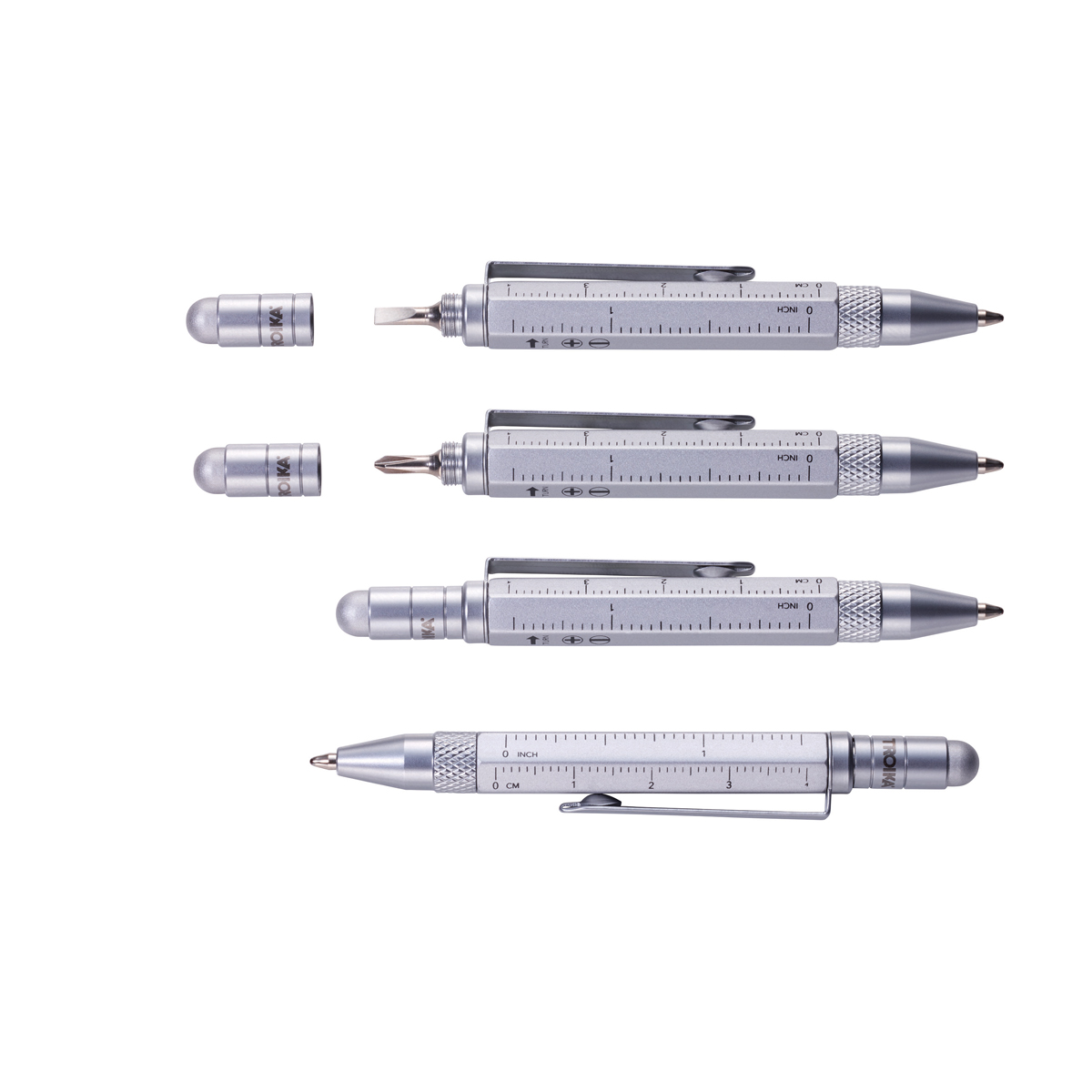 Troika Construction Liliput Mini Tool Pen Titanium
