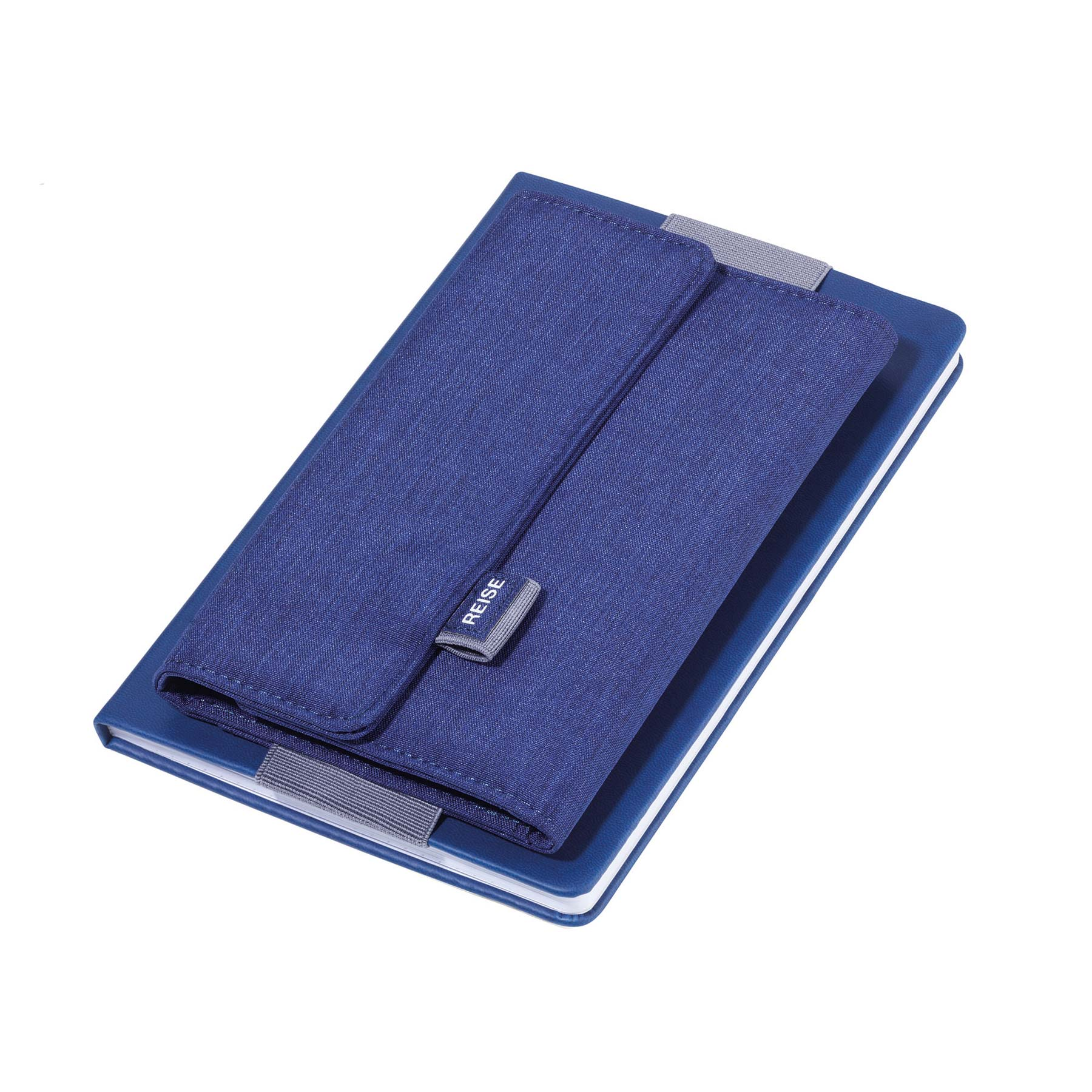 Troika Notebook Wallet Organizer Blue